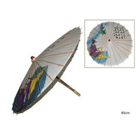 ombrelle chinoise décorée avec dessin