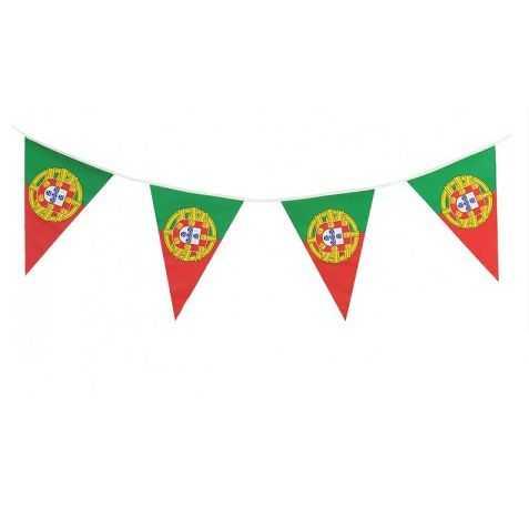 Guirlande pavillons drapeau Portugais
