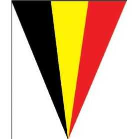 Guirlande pavillons drapeau belge