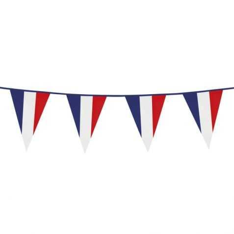 Guirlande pavillons drapeaux France