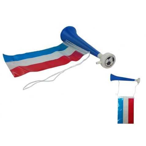 Trompe de Supporter avec drapeau français