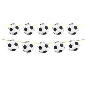 Petite Guirlande avec des ballons de football
