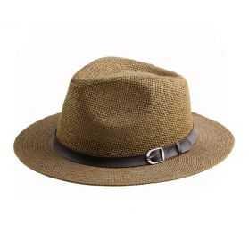Chapeau de paille Panama couleur Ivoire