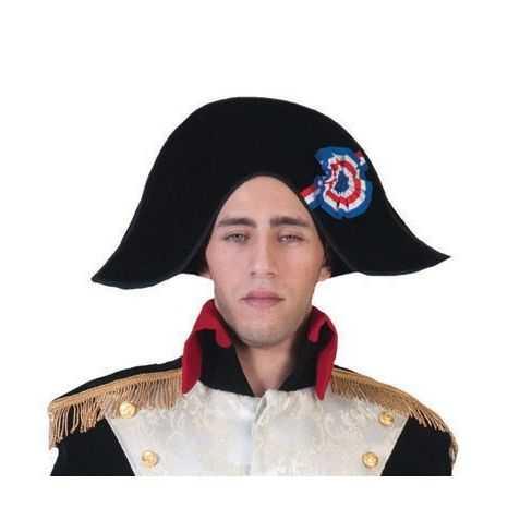 Napoléon en feutrine avec cocarde