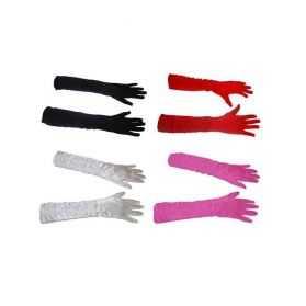 Longs gants de soirée