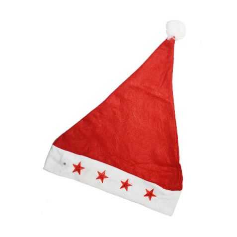 Bonnet de Père Noel enfant lumineux
