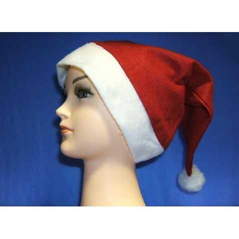 Bonnet de Père Noel en feutrine 1er prix