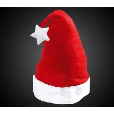 Bonnet de Père Noel lumineux