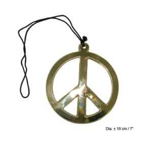 Collier Peace and Love Géant
