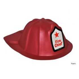 Casque rouge Pompier enfant