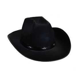 Chapeau Noir de Cow-boy Enfant