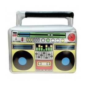 Poste radio cassettes gonflable