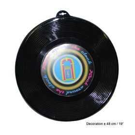 Décor en forme de Disque Vinyle