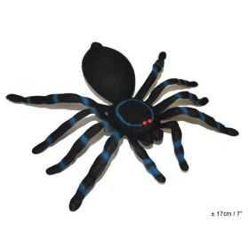 Grande figurine Araignée velue avec yeux rouges
