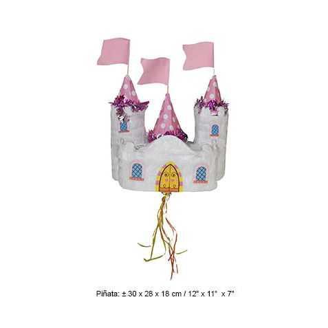 Pinata en forme de Château de Princesse