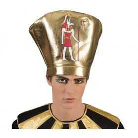 Coiffe déguisement Pharaon