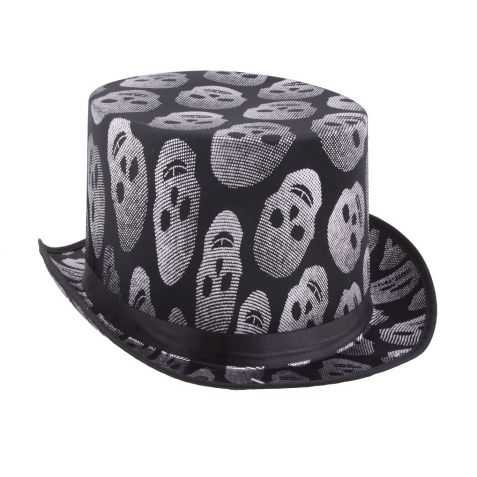 Chapeau halloween avec Tête de Mort