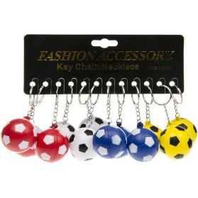 1 Porte-clefs en forme de Ballon de foot