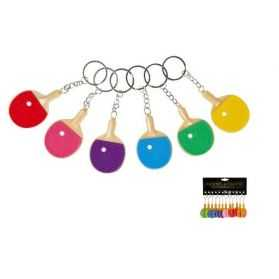 1 Porte-clés en forme de raquette de tennis de table