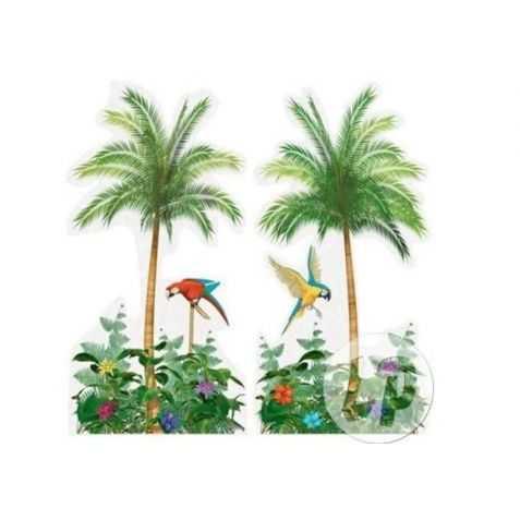 2 décors Palmier