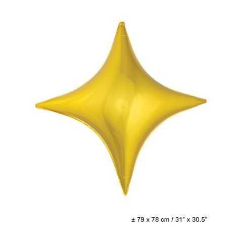Ballon en forme d'étoile géante