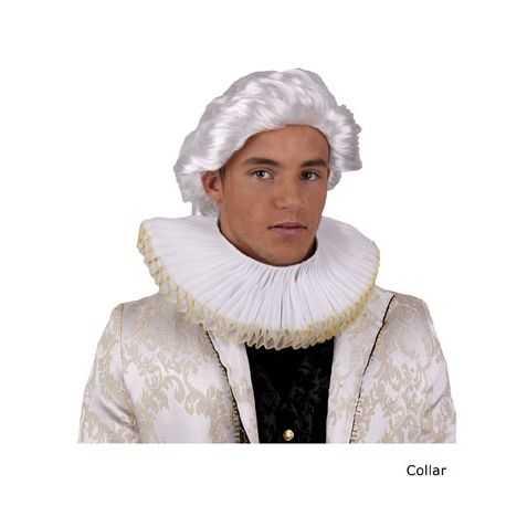 Collerette blanche