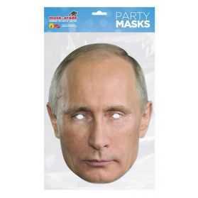 Masque Vladimir Poutine en carton