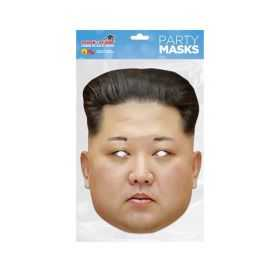 Masque Kim Jong Un en carton