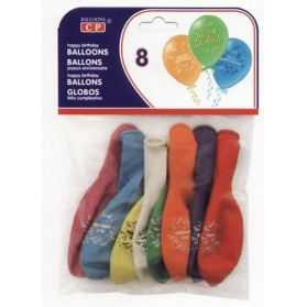 Ballons de baudruche Joyeux Anniversaire