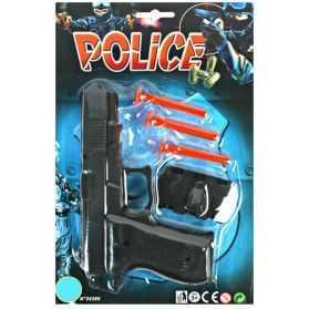Pistolet avec 3 flèches