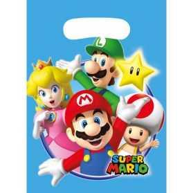 8 sacs cadeaux Mario Kart