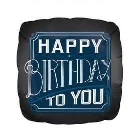 Ballon géant gonflable Happy Birthday