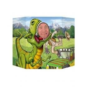 Passe-tête Photos thème Dinosaure