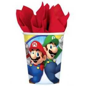 Gobelets anniversaire Super Mario