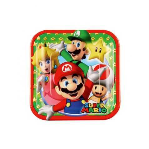 Petites assiettes Super Mario