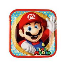 Grandes assiettes Super Mario