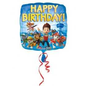 Ballon anniversaire Pat Patrouille