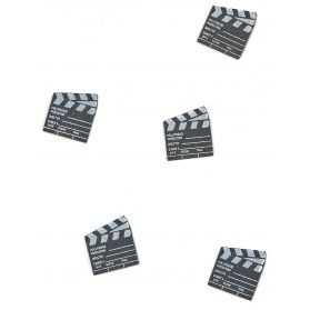 Confettis pour déco de table à thème Cinéma