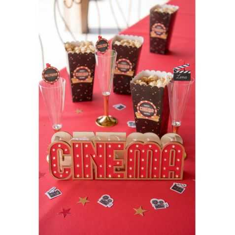 Décoration lumineuse Cinéma