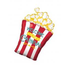 Ballon en forme de paquet de Pop Corn