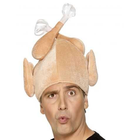 Chapeau pour se déguiser en Dinde adulte