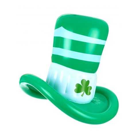 Chapeau Saint Patrick gonflable