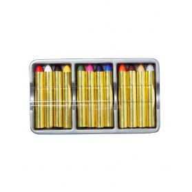 Blister 12 crayons de maquillage pour se grimer