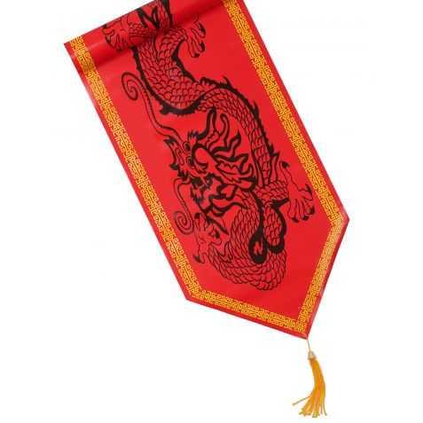 Chemin de Table avec imprimé sigles chinois