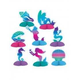 Décorations de table thème Sirène