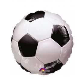 Ballon géant en forme de Ballon de Football noir et blanc