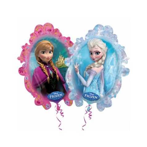 Ballon gonflable Reine des Neiges pour gouter d'anniversaire fille