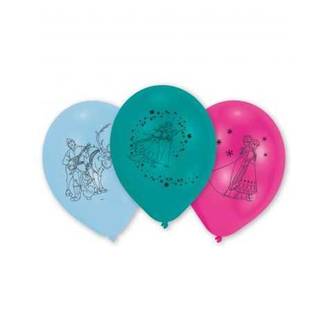 10 ballons anniversaire Reine des neiges