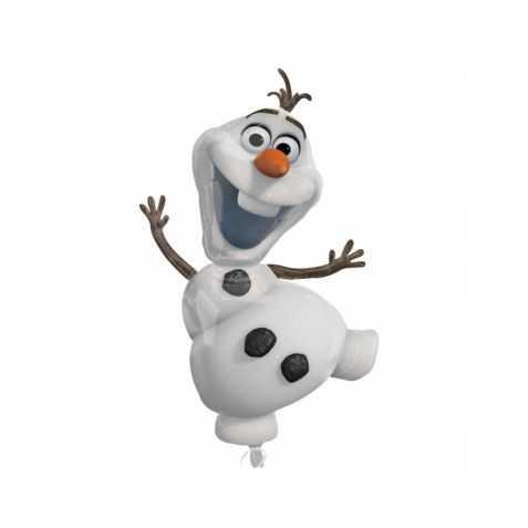 Ballon en forme de personnage de la Reine des neiges