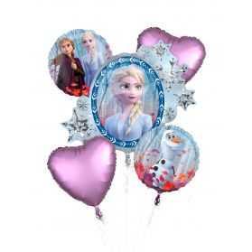 Kit déco Ballons gouter anniversaire Reine des Neiges